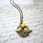 Love Birds Pendant - Bird N..